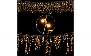 Instalatie luminoasa tip perdea 10 m 200 LED-uri