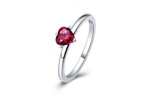 Inel fix din argint 925 Original Design Grateful Heart Rings