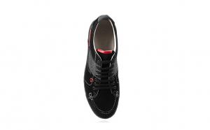 Pantofi barbati, piele naturala, 116 negru, maro