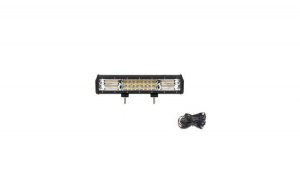 Pachet Led Bar 216 W cu kit electric