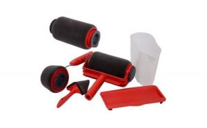 Set 2x Trafaleti Paint Racer Rosu cu umplere + rezervor recipient 700 ml + brat extensibil 71 cm 2x accesorii + sticker inscriptionat GrigProject