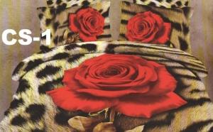 Lenjerii Bumbac Satinat Luxury CLASS 3D LUX , la doar 135 RON in loc de 459 RON