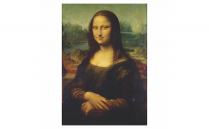Tablou Canvas Mona Lisa, 50 x 70 cm, 100% Bumbac