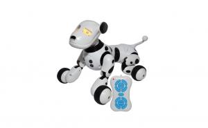 Robot catel vorbitor cu telecomanda si acumulator