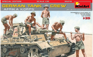 "1:35 German Tank Crew ""Afrika"