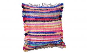 """Perna decorativa traditionala tesuta """"Etno"""", multicolor, 40 x 40 cm"""