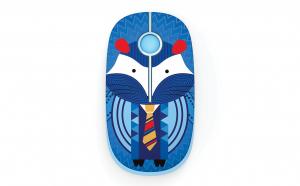 Mouse wireless cu butoane silentioase