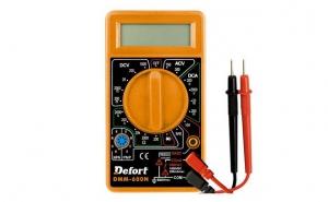 Multimetru digital Defort DMM-600N, la 27 RON in loc de 55 RON