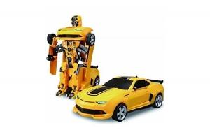 Masina Transformers Robot interactiv, cu Telecomanda