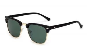 Ochelari de soare Retro Albastru inchis - Verde - Polarizati