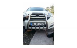 Bullbar inox compatibil HONDA CRV 2007->  COD: K4