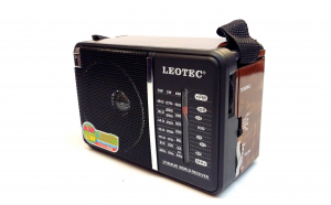 Radio Leotec LT-614 cu 4 benzi radio,ali