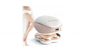 Epilator electric fara durere, Flawless Legs, cu acumulator, lumina alba