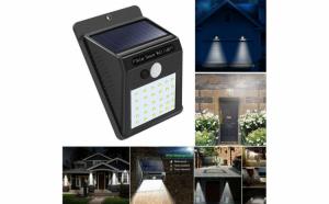 Lampa solara cu sensor de miscare
