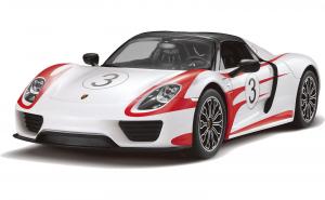 Masinuta cu telecomanda  Porsche Alb