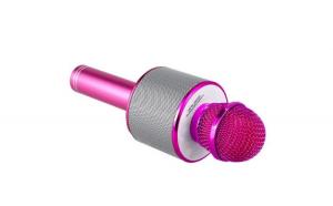 Microfon karaoke WS-858 , Boxa Inclusa, SD Card, USB, AUX, Violet