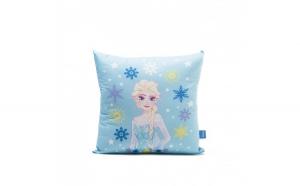Perna decorativa Frozen Magia, 42x42 cm, bleu