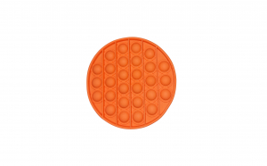 Jucarie anti-stres POP IT cerc - portocaliu KATHODE