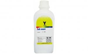 Flacon refill cerneala galben dye Brother 1 litru, Ink-Mate BT5000Y