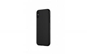 Husa protectie 360 pentru Iphone XS Max, silicon, negru, Gonga