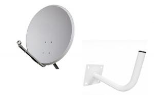 Antena 80 cm fara LNB - pentru Telekom,
