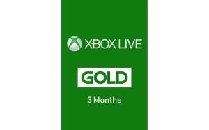 Abonament Microsoft Xbox Live Gold 3 Months Licenta Electronica