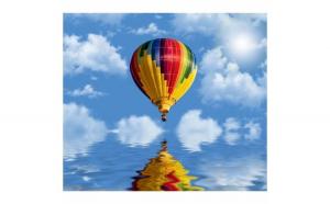 Fototapet balon aer 300 x 262 cm Hartie blueback fara adeziv