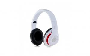 Casti Stereo STN-16 Bluetooth/Wireless cu Microfon Card TF/Micro SD si Radio, Bass