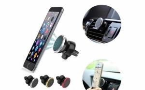 Suport magnetic auto telefon 360