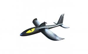 Avion planor din spuma flexibila 36x35 cm