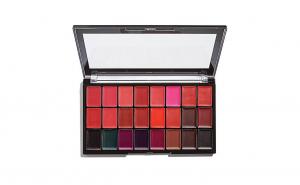 Paleta 24 rujuri Makeup Revolution Pro Lipstick Kit, Reds/Vamps