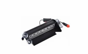 Lampa flash stroboscopica pentru parbriz 8W - 3 moduri lumina, Rosu - Albastru 12v
