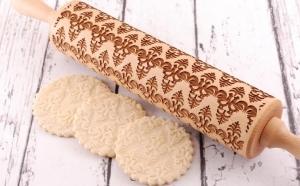 Rooster - Sucitor lemn pentru decorarea fursecurilor si prajiturilor gravat cu Laser la doar 125 RON