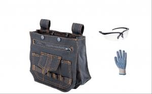 Geanta port scule + ochelari de protectie + cadou manusi, la doar 59 RON de la 120 RON