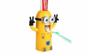 Dozator pasta de dinti - Minions