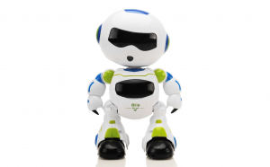 Robot spatial inteligent Blip Bingo cu telecomana, muzica si lumini