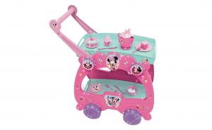 Masa Minnie Mouse pentru ceai , cu cesti incluse, Bucatarie Copii , 57x12x38 cm , 19 Accesorii