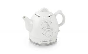 Cana electrica, ceainic electric din ceramica 1.2 l, 1350 W exterior emailat
