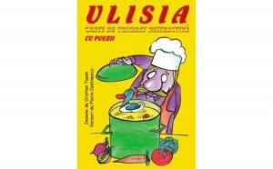 Carte de colorat distractiva Ulisia - Cu poezii