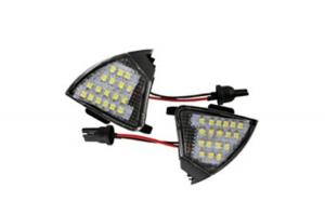 Lampa LED oglinda lumina exterioara 7411 compatibil VW Jetta 2005-2010 -  VW Passat 3C 2005-2010