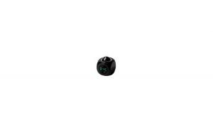 Ceas de camera cu proectie pe tavan,alarma,negru