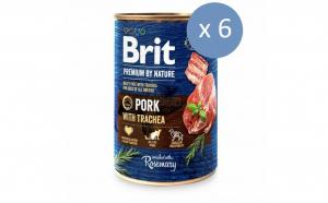 Bax 6 x conserve carne de porc