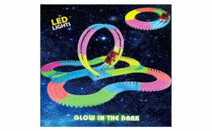 Pista luminoasa pentru copii 136 piese