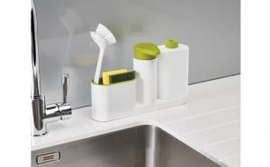 Set dozator detergent Sink Tidy Sey ideal pentru bucatarie/baie