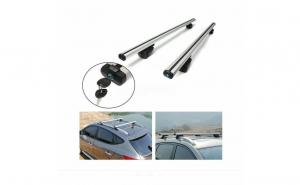 Kit set bare portbagaj cu cheie RENAULT Megane II / III 2002-2016 Combi / Break / Caravan - Aluminiu -
