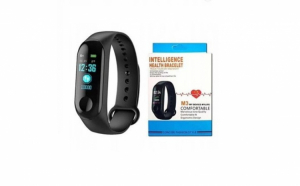 M3 plus, bratara fitness smartband, bluetooth, oled, ip67, ritm cardiac, notificari apeluri, aplicatii