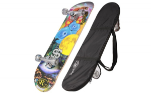 Skateboard cu husa