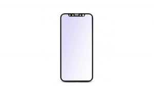Folie de protectie iPhone X, sticla securizata 3D, negru, Baseus