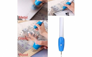 Creion electric pentru gravat in lemn, metal sau sticla usor de utilizat