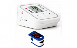 Tensiometru electronic de brat + CADOU Pulsoximetru